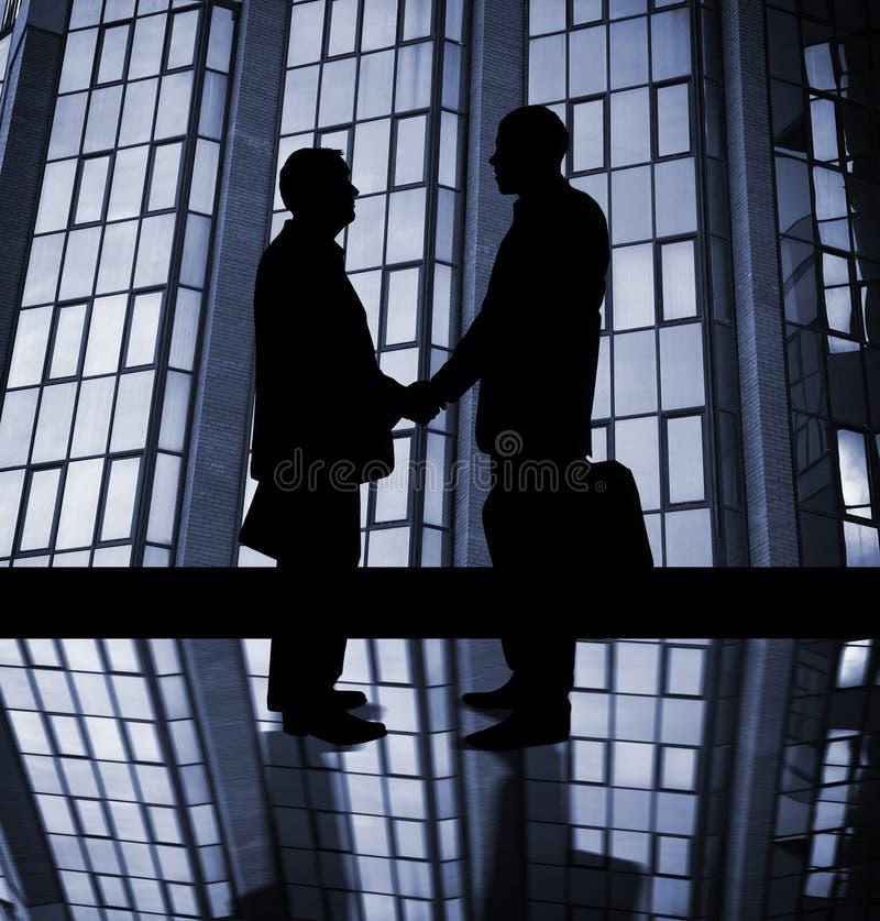 Partenariat d'affaires illustration de vecteur