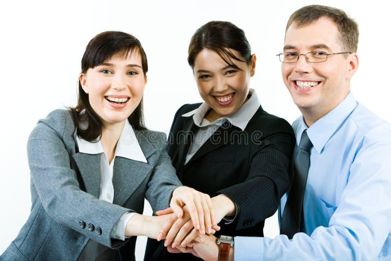 Partenariat d'affaires image libre de droits