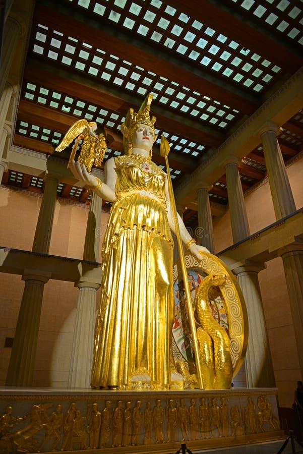 Partenon em Nashville, Tennessee, EUA foto de stock royalty free