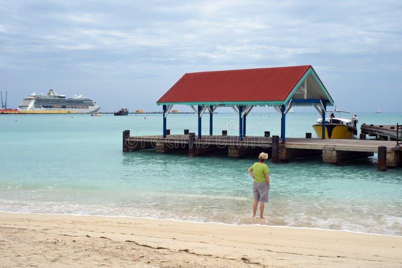 Partenza tropicale fotografia stock