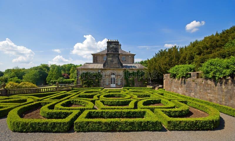 parterre topiary στοκ φωτογραφία