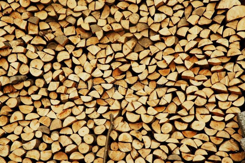 Partes de madeira para o despedimento imagem de stock