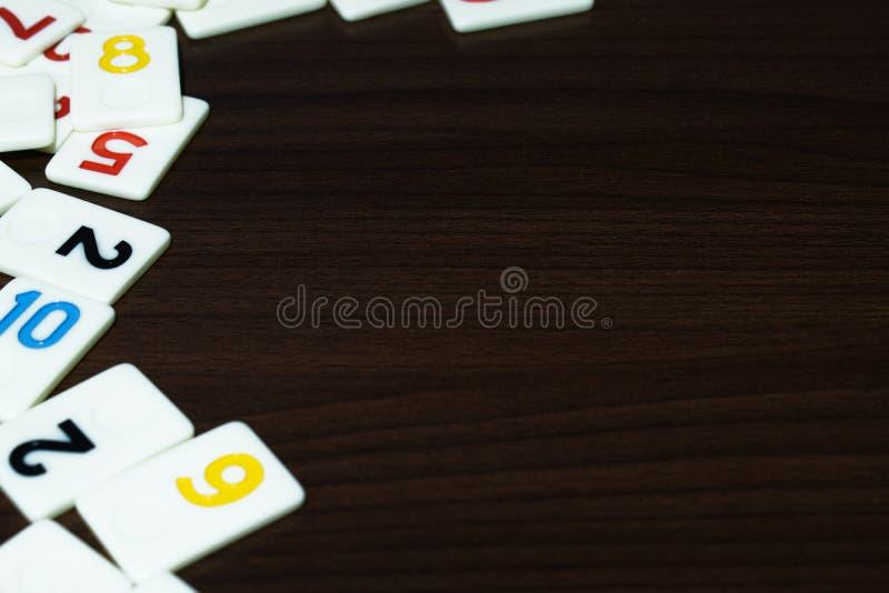 partes de râmi colocadas em ordem na tabela imagem de stock royalty free