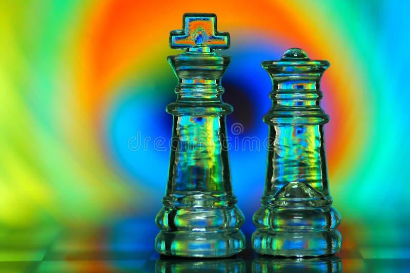 Partes de xadrez imagens de stock