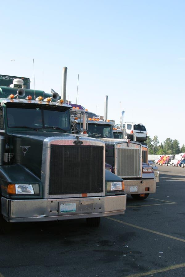 Partes dianteiras do caminhão fotos de stock