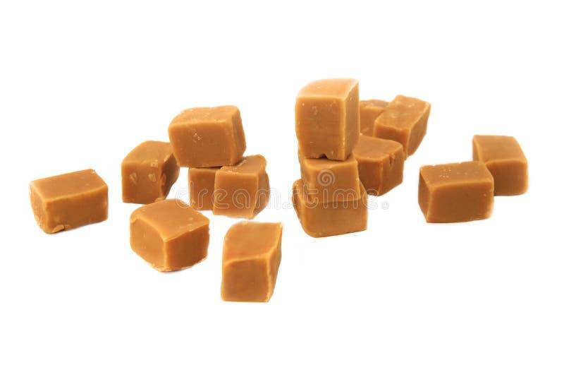 Partes do caramelo imagem de stock