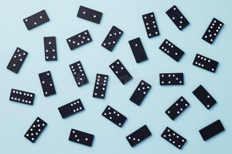 Partes do dominó imagem de stock