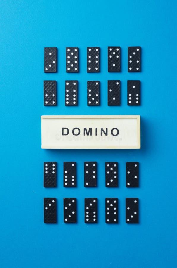 Partes do dominó foto de stock royalty free