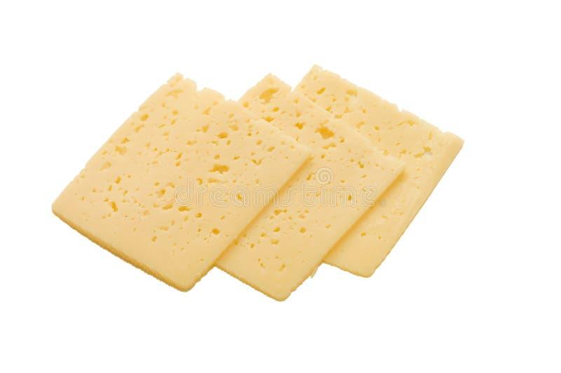 Partes do queijo fotos de stock royalty free