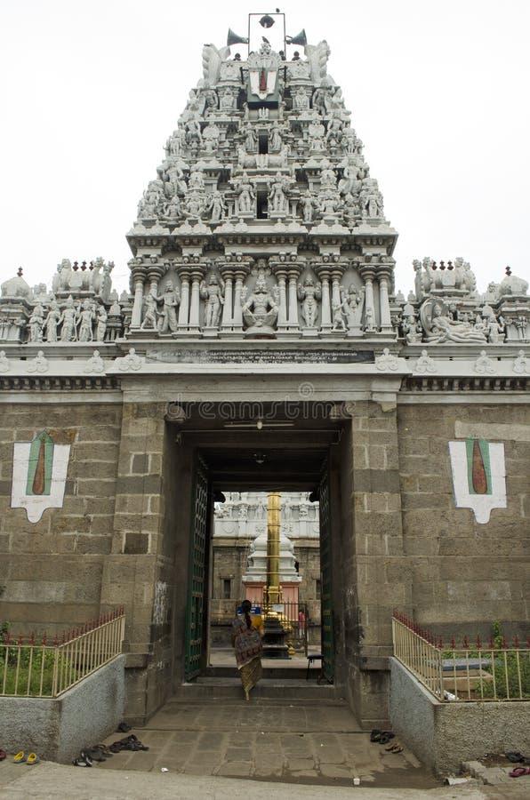 Parthasarathy świątynia zdjęcia stock