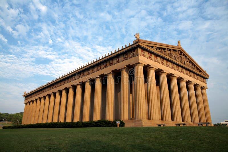Parthenon à Nashville Tennessee photo stock