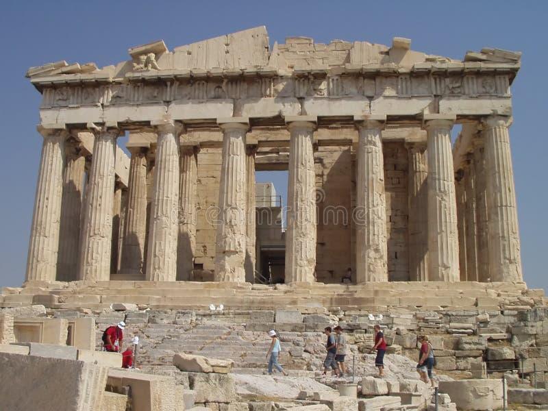 Parthenon świątynia obrazy stock