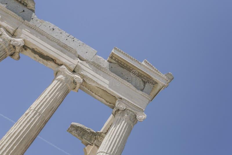 Parthenon świątynia na Ateńskim akropolu w Ateny, Grecja obrazy royalty free