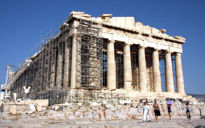 Parthenon - ακρόπολη - Αθήνα στοκ φωτογραφίες με δικαίωμα ελεύθερης χρήσης