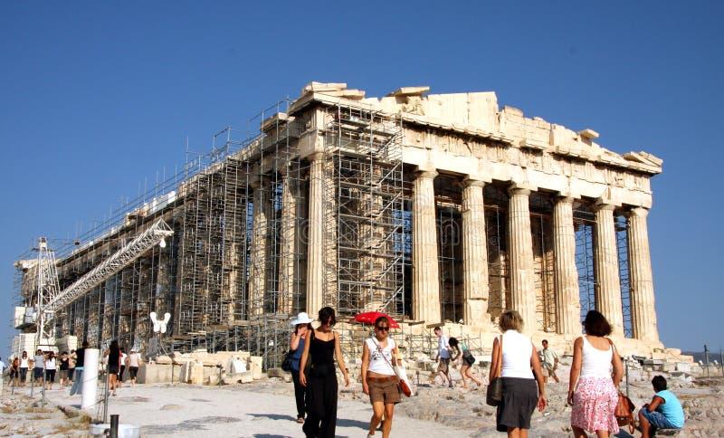 Parthenon - ακρόπολη - Αθήνα στοκ φωτογραφίες