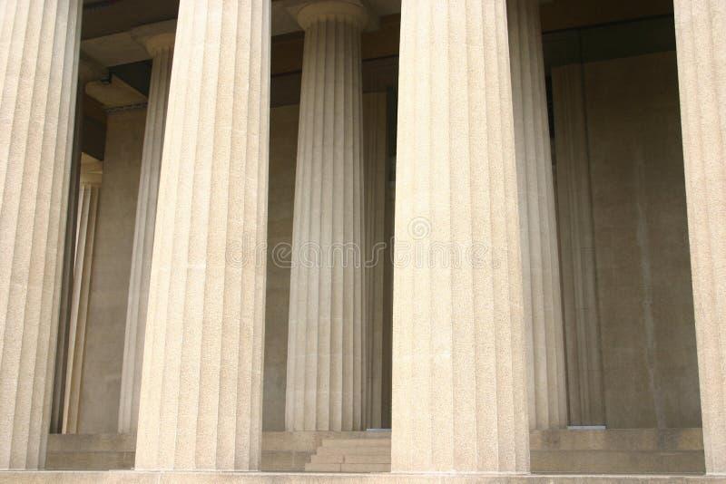 Parthenon 1 du Tennessee image libre de droits