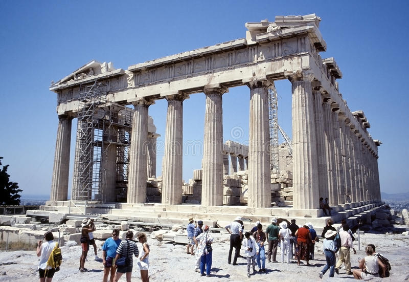 Download The Parthenon editorial stock image. Image of monument - 25721264