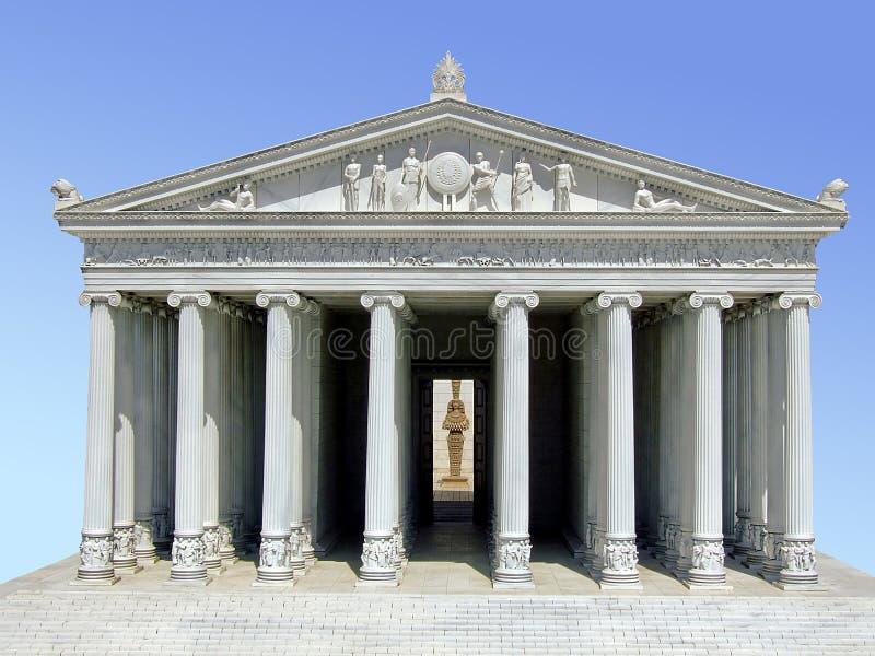 Parthenon image libre de droits