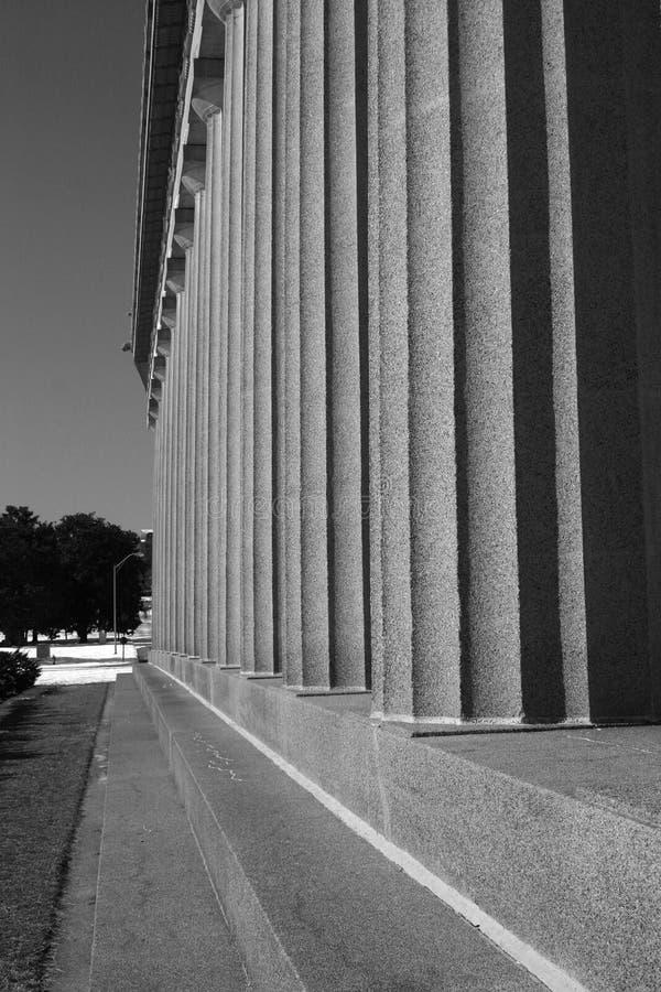 Parthenon 5 du Tennessee image libre de droits