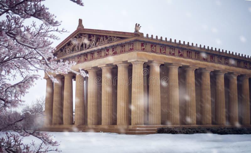 parthenon obrazy royalty free