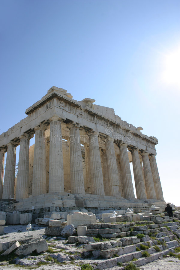 Parthenon fotos de stock royalty free