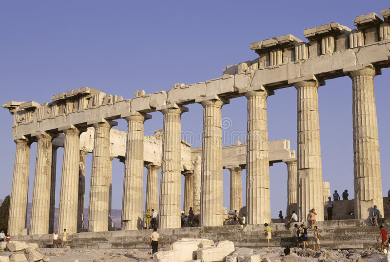 Parthenon photo libre de droits