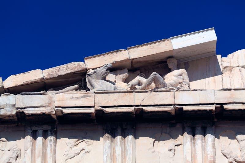 Parthenon in Acropolis, Athens royalty free stock photos
