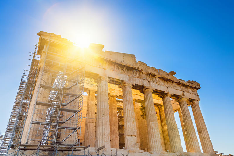 Download Parthenon In Acropolis, Athens Stock Images - Image: 26120474