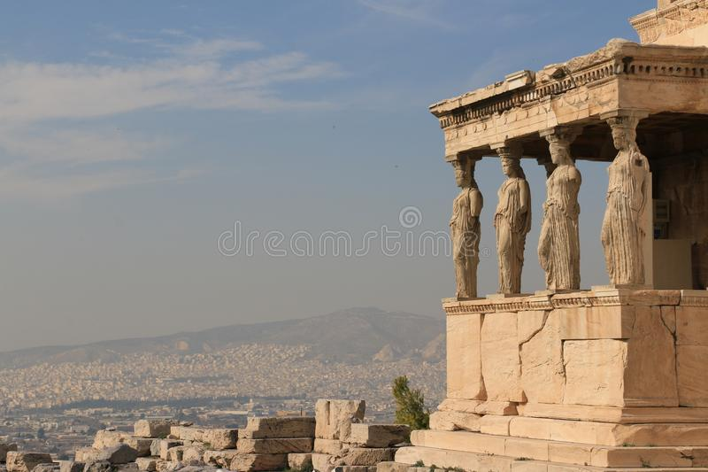 PARTHENON - ACROPOLIS - ATHENS stock images