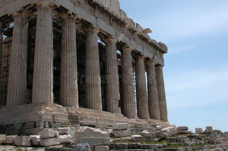 parthenon akropolu obrazy royalty free