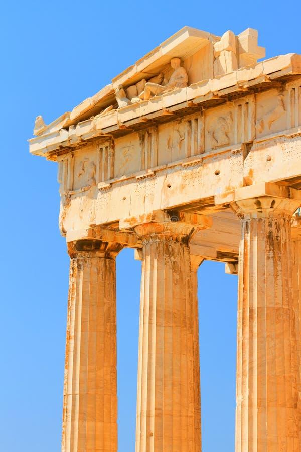 Parthenon all'acropoli, Atene immagini stock