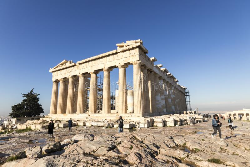Parthenon, Ath?nes, Gr?ce photo stock