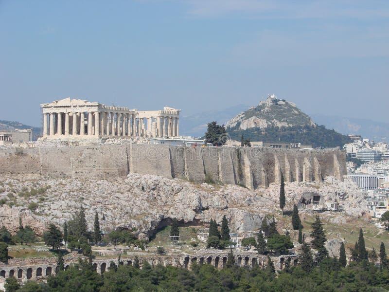 The Parthenon, Athens royalty free stock photo