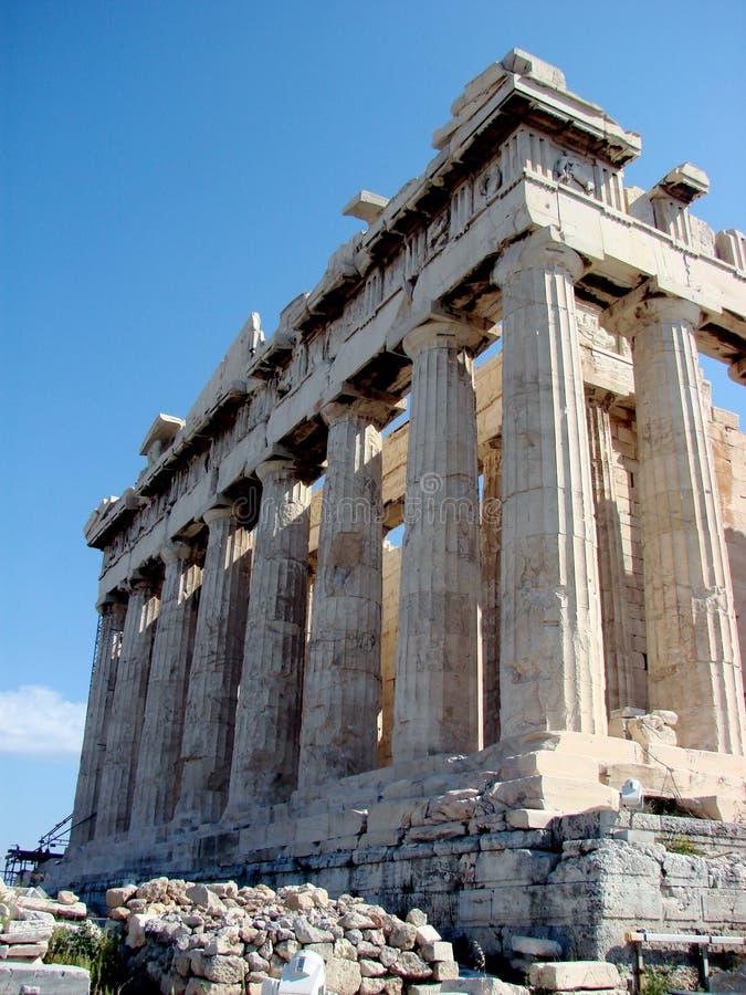The Parthenon, Athens stock photos