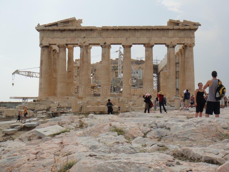 Parthenon stock image