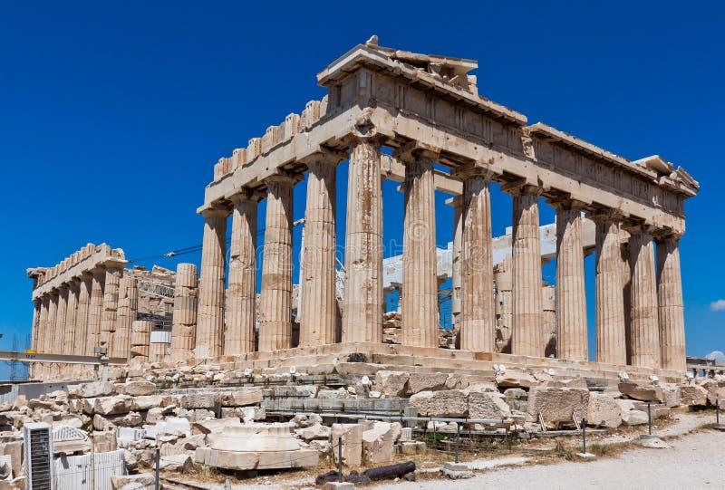 Parthenon d'Acropole d'Athènes photographie stock libre de droits