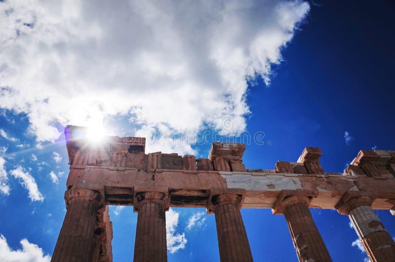 parthenon d'Athènes Grèce image stock
