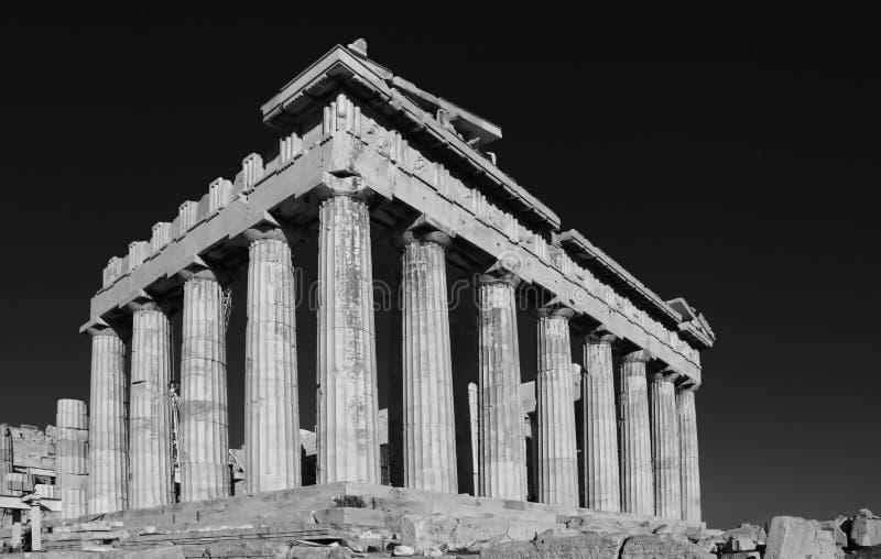 parthenon d'Athènes Grèce images libres de droits