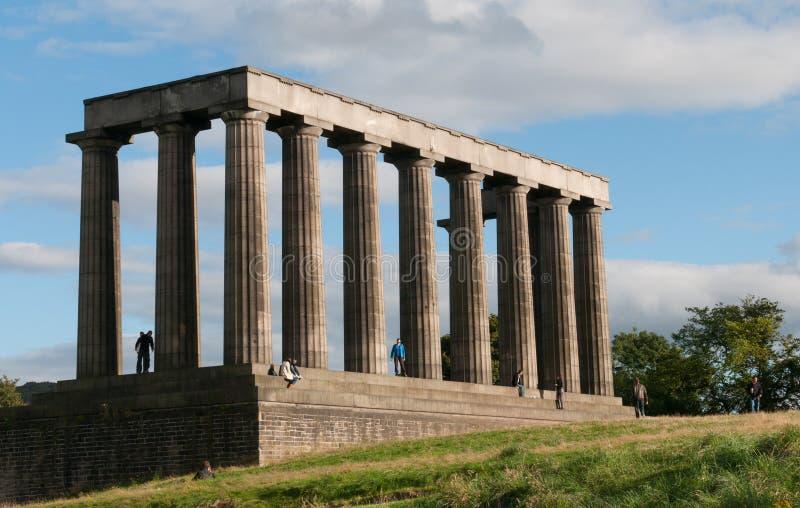 Parthenon d'Edimbourg photos stock
