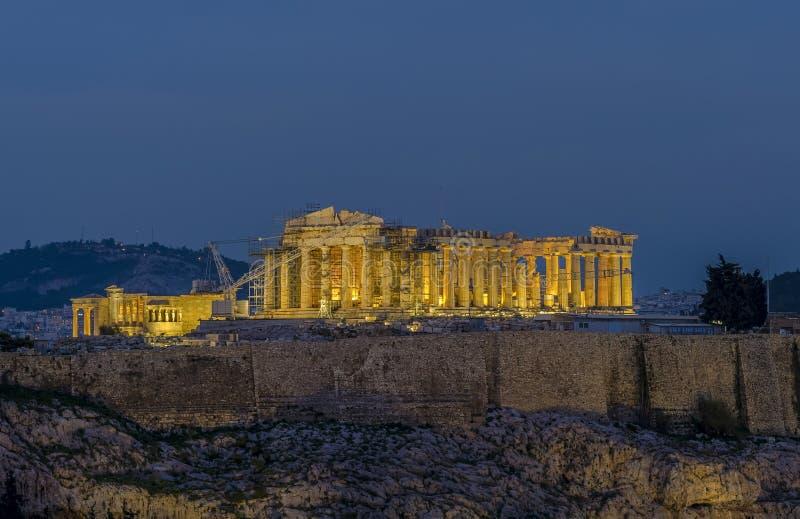 Parthenon de Atenas imagenes de archivo