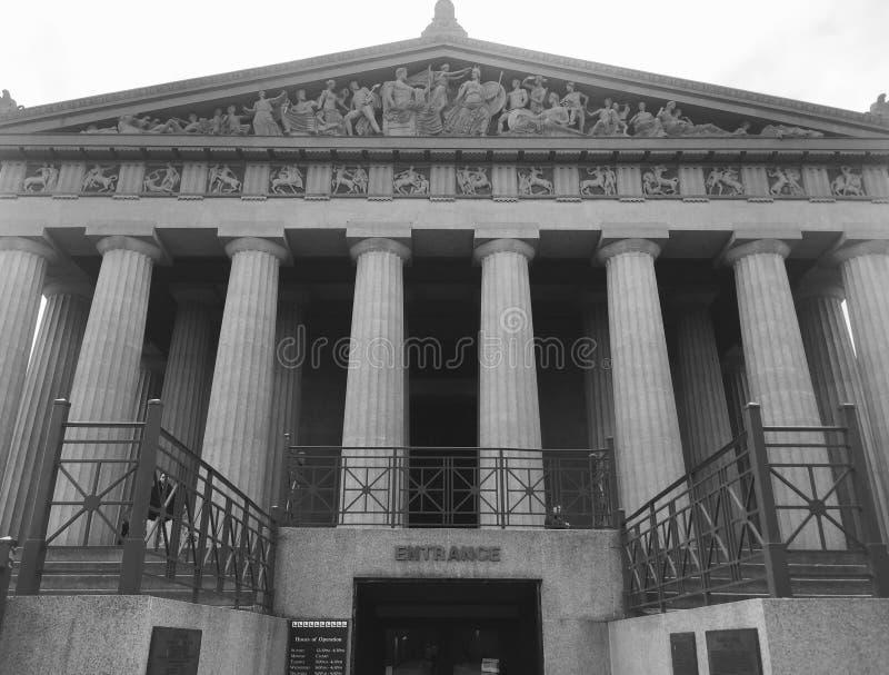 Parthenon de Nashville photos stock