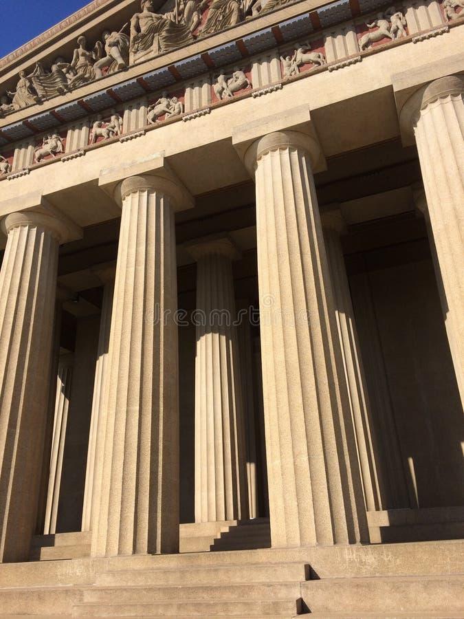 Parthenon de Nashville photo stock