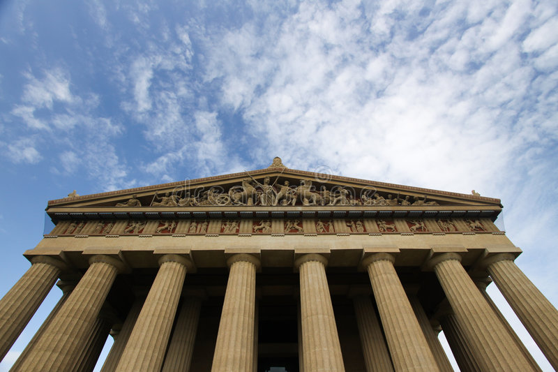 Parthenon de Nashville, Tennessee fotos de archivo libres de regalías