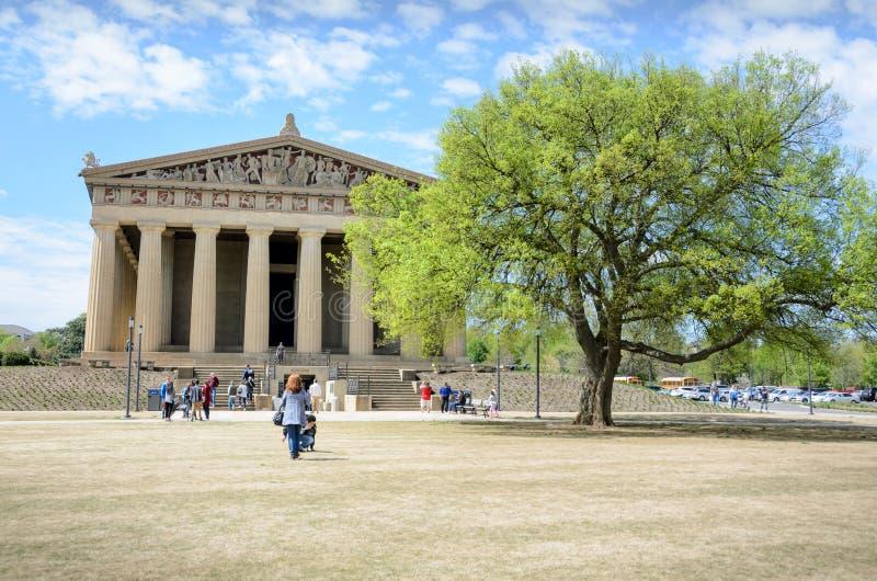 Parthenon en Nashville, Tennessee foto de archivo libre de regalías