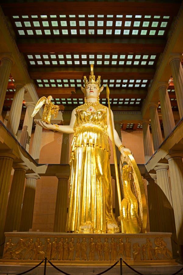 Parthenon en Nashville, Tennessee, los E.E.U.U. imagenes de archivo