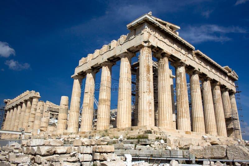 Parthenon, Grecia immagini stock libere da diritti