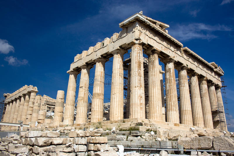 Parthenon, Greece royalty free stock images