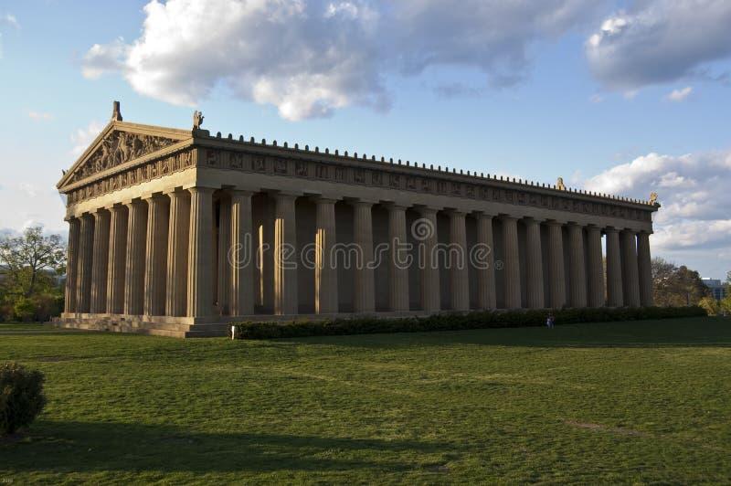 Parthenon (lleno) fotos de archivo