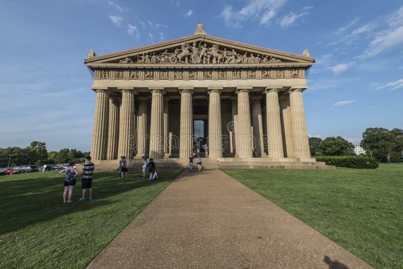 Parthenon, Nashville fotos de archivo libres de regalías