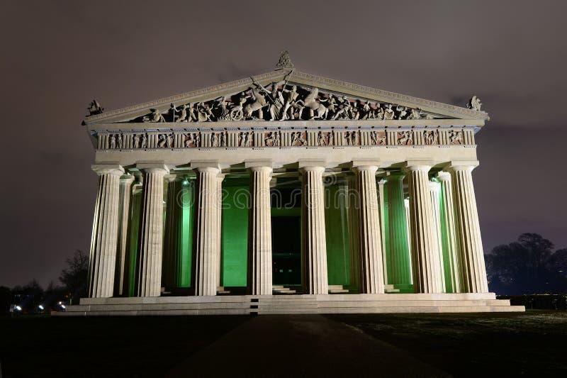 Parthenon in Nashville Tennessee royalty-vrije stock afbeeldingen